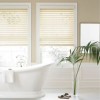 Real Simple® 2.5-Inch Faux Wood 63-Inch x 84-Inch Blind in Alabaster