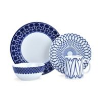 Mikasa® Lavina 4-Piece Place Setting in Cobalt