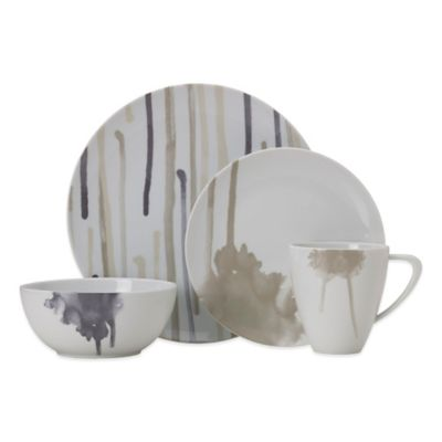 Mikasa® Kiora 4-Piece Place Setting  sc 1 st  Bed Bath \u0026 Beyond & Buy Cool Dinnerware Sets from Bed Bath \u0026 Beyond