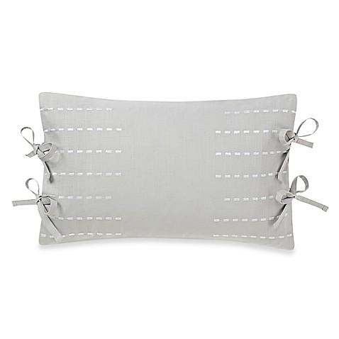 Buy Real Simple 174 Boden Tie Oblong Throw Pillow From Bed