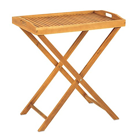 Bed Bath Beyond Wood Tray