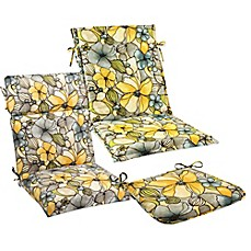 Outdoor Cushions and Pillows in Whitlock Yellow