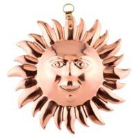 Old Dutch International Solid Copper Sun Face Gelatin Mold
