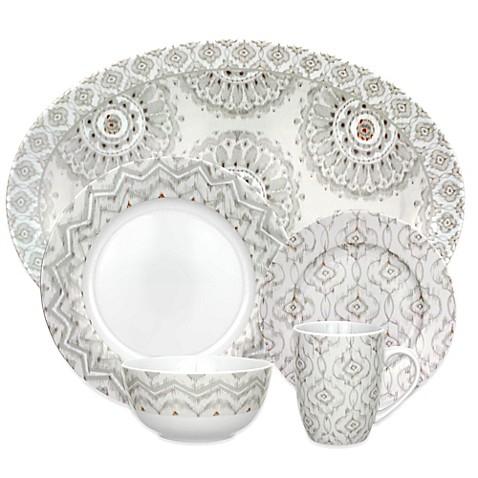 Dena™ Home Jaida Bone Dinnerware Collection in White  sc 1 st  Bed Bath u0026 Beyond & Dena™ Home Jaida Bone Dinnerware Collection in White - Bed Bath u0026 Beyond