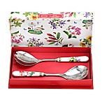 Portmeirion® Exotic Botanic Garden 2-Piece Dragonfly and Moth Orchid Salad Servers