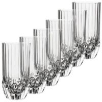 Lorren Home Trends Adagio Highball Glasses (Set of 6)