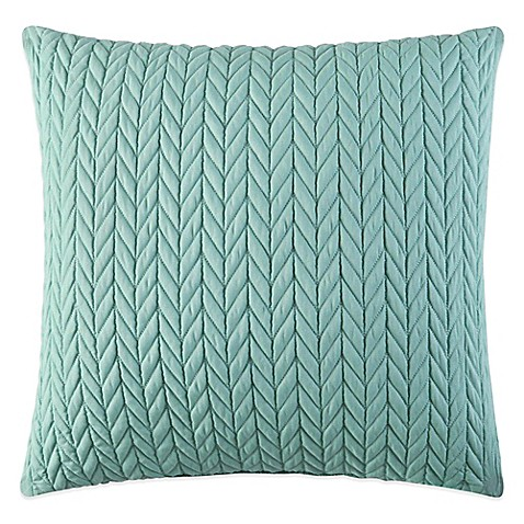 J by J. Queen New York Camden Square Throw Pillow in Wasabi
