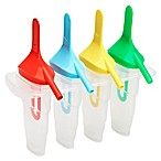 Ice Pop Maker Molds with Sipper Straw Bases (Set of 4)