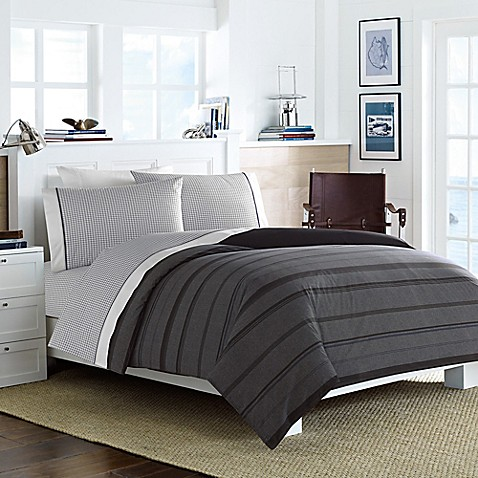 Nautica Sebec Comforter Set In Grey Bed Bath Beyond