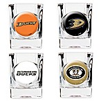 NHL Anaheim Ducks Collector's Shot Glasses (Set of 4)