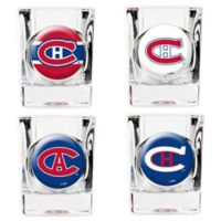 NHL Montreal Canadiens Collector's Shot Glasses (Set of 4)
