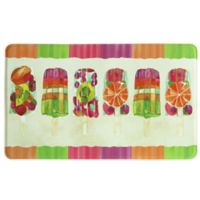 Bacova 25-Inch x 42-Inch Popsicle II Memory Foam Kitchen Rug