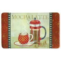 Bacova 25-Inch x 42-Inch French Press Memory Foam Kitchen Rug