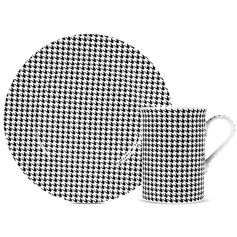 Maxwell u0026 Williams™ Cashmere Art Deco Houndstooth Dinnerware  sc 1 st  Bed Bath u0026 Beyond : art deco dinnerware - pezcame.com