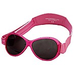 Baby Banz Retro Banz Infant Sunglasses in Flamingo Pink