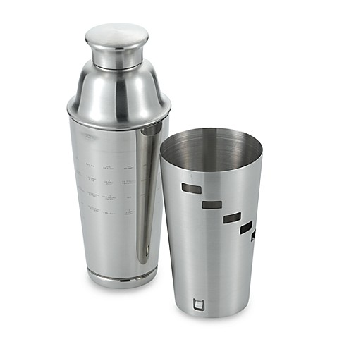 Oggi™ Dial A Drink™ Stainless Steel Cocktail Shaker - Bed Bath & Beyond