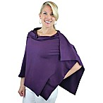 Bamboobies Chic Nursing Shawl in Blackberry