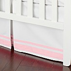 Just Born® Classic Collection Crib Skirt in Barely Pink