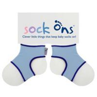 Sock Ons® Size 6-12M Classic Socks in Baby Blue