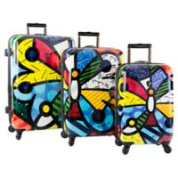 Heys® Britto Butterfly 3-Piece Upright Spinner Set