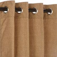 Pawleys Island® Sunbrella® 84-Inch Grommet Top Outdoor Curtain Panel in Medium Brown