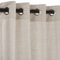 Pawleys Island® Sunbrella® 108-Inch Grommet Top Outdoor Curtain Panel in Silver