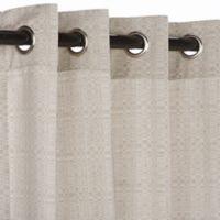 Pawleys Island® Sunbrella® 120-Inch Grommet Top Outdoor Curtain Panel in Silver
