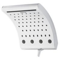 Oxygenics® Curve™ Fixed Showerhead in Chrome