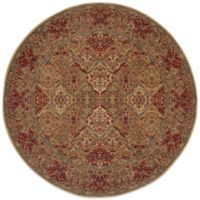 Karastan Original Empress Kirman 8-Foot 8-Inch Round Rug