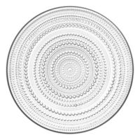 Iittala Kastehelmi Charger Plate in Clear