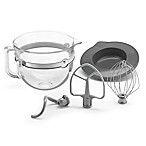 KitchenAid® 6 qt. Glass Bowl with Lid and Mixing Tools