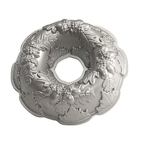 Nordic Ware 174 Nonstick Wreath Bundt Pan In Silver Bed
