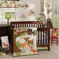 Lambs & Ivy® Woodland Tales 4-Piece Crib Bedding Set