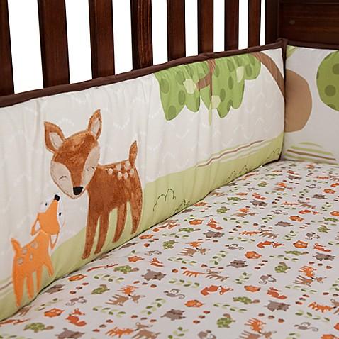 Lambs Amp Ivy 174 Woodland Tales 4 Piece Crib Bumper Buybuy Baby