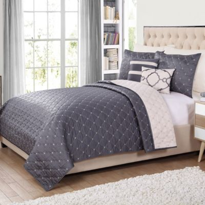 Buy Gray Quilts From Bed Bath Beyond