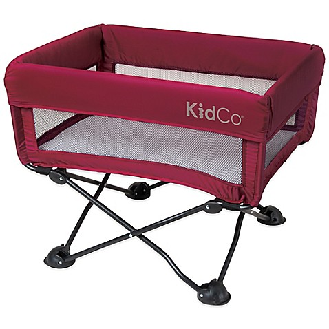 Kidco dreampod portable bassinet in cranberry buybuy baby for Portable bassinet
