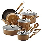 Rachael Ray™  Cucina 12-Piece Hard Enamel Cookware Set in Brown