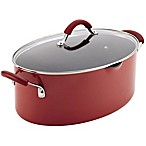 Rachael Ray™  Cucina 8 qt. Hard Enamel Covered Oval Pasta Pot in Red