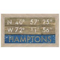 Hamptons Framed Art