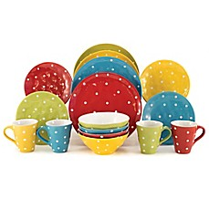 Maxwell \u0026 Williams™ Sprinkle 16-Piece Dinnerware Set in Lime  sc 1 st  Bed Bath \u0026 Beyond : maxwell williams sprinkle dinnerware - pezcame.com