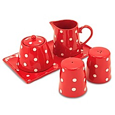 Maxwell u0026 Williams™ Sprinkle 5-Piece Accessory Set in Red  sc 1 st  Bed Bath u0026 Beyond : maxwell and williams sprinkle dinnerware - pezcame.com