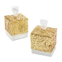 Kate Aspen® All That Glitters Favor Boxes in Gold (Set of 24)