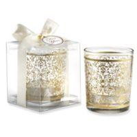 Kate Aspen® Golden Renaissance Glass Tealight Holders (Set of 4)
