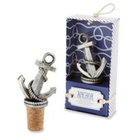 Kate Aspen® Nautical Anchor Bottle Stopper