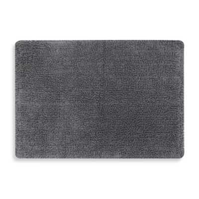 Mohawk Step Out 17 Inch X 24 Bath Rug In Charcoal