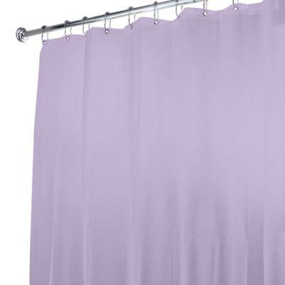 5 Gauge Shower Curtain Liner In Lavender