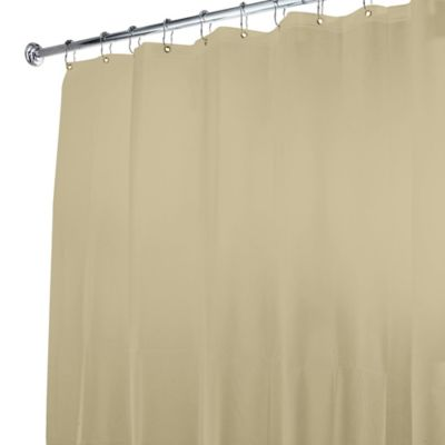 5gauge shower curtain liner in linen
