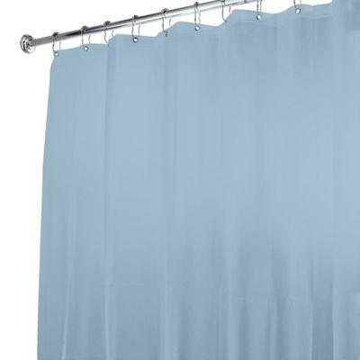 5 Gauge Shower Curtain Liner In Light Blue