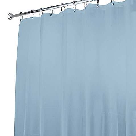 Buy 5 Gauge Shower Curtain Liner In Light Blue From Bed Bath Beyond