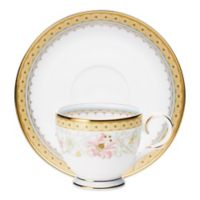 Noritake® Blooming Splendor After Dinner Cup and Saucer